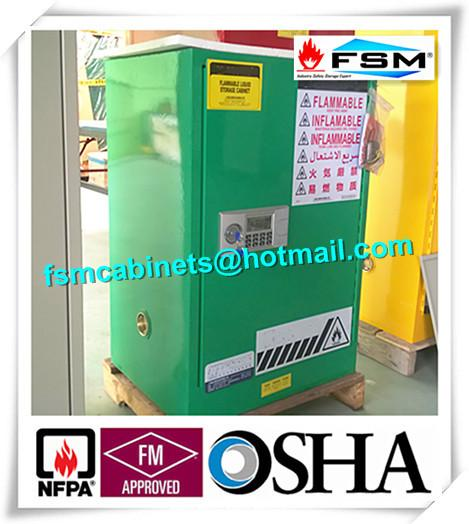 Hazardous Waste Storage Cabinets For Laboratory , Paint Safety Storage  Cabinets For Inks