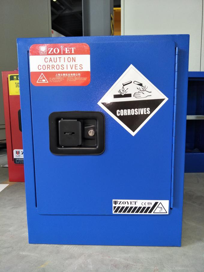 Flammable Corrosive Storage Cabinets , Paint Storage Lockers For Laboratory