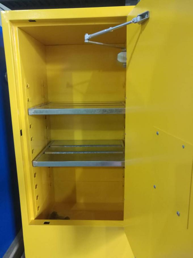 Flammable Safety Cabinets , Fireproof storage cabinets for Chemical Liquid