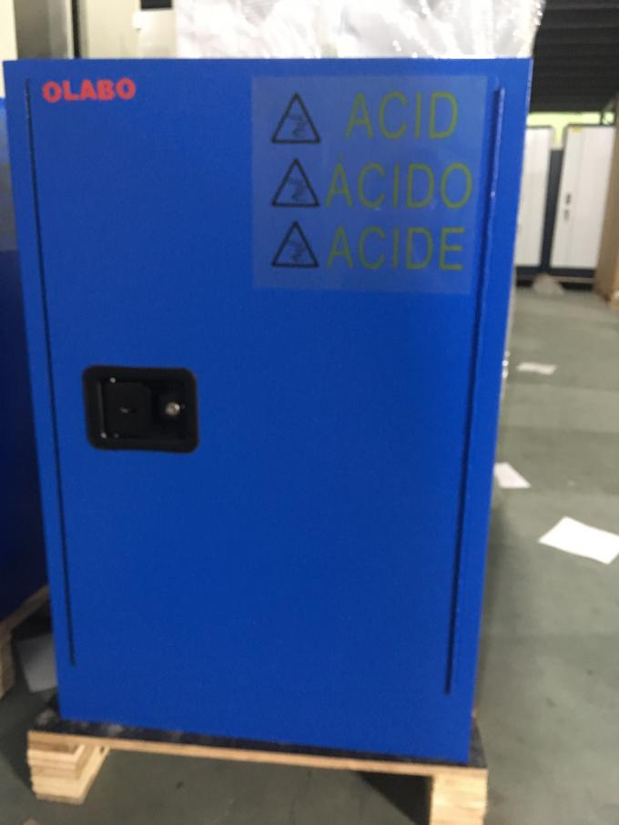 Safety Acid Corrosive Storage Cabinets With Touch Screen For Chemical Liquid12 gallon 45litre