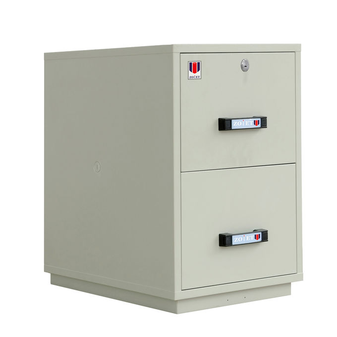 Fireproof Lockable Filing Cabinet JIS Standard For Books / Customer Information / Contracts