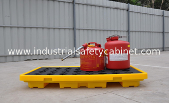 China Oil Tank Storage HDPE Drum Spill Containment Deck, Spill Deck for 220L Oil Drum supplier