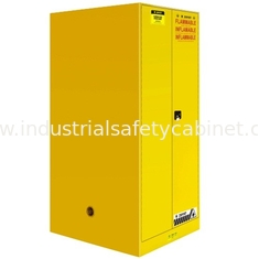 60 GAL Industrial Safety Cabinets , Safety Storage Cabinets For Flammable Liquids