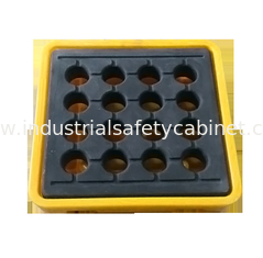 China IBC Chemical Spill Containment Trays , 4 IBC Tank Safety Storage Spill Deck And Spill Pallet supplier