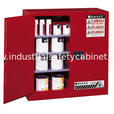 China 30 Gallon Chemical Storage Lockers , Safety Containers For Conbustible Liquids supplier