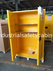 Double Wall Construction Industrial Storage Cabinets / Chemical Storage Cupboards