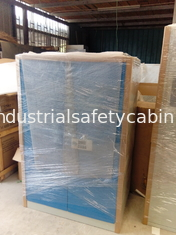 China Steel Flame Resistant Cabinet Hazmat Locker For Corrosive Liquid In Chemical supplier
