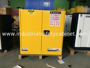 China 30 Gallon Chemical Safety Storage Cabinets For Flammable Liquids / Combustibles supplier