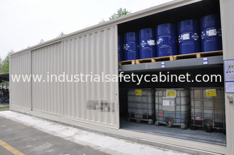 China Chemical Storage Buildings , Hazardous Material Storage Building For Corrosive Liquid supplier