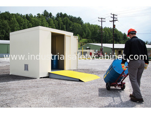China Hazardous Material Storage Building , Chemical Storage Buildings For Flammable Liquids supplier