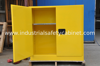 China Flammable Chemical Storage Cabinets / Fireproof Storage Cabinets For Chemical supplier