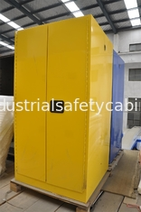 China Three Layers Grounding Flammable Gas Storage Cabinets 60 GAL for Chemical supplier