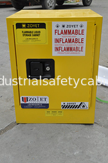 China Metal Chemical Storage Cabinets , Dangerous Goods Cabinets For Flammable Liquid supplier