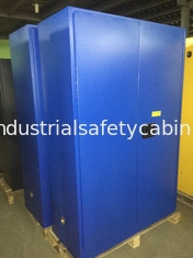 China Steel Lockable Corrosive Safety Cabinets Fireproof  For Lab / Hospital Liquid supplier