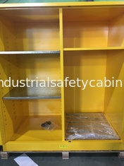 China Flammable Goods Storage Cabinets With Earthing Socket For Combustible Liquid / Paint supplier