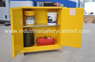 China Flammable Chemical Safety Storage Cabinets 22 Gallon With Single Door supplier