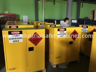 China Hazardous Chemical Storage Cabinets Fireproof  for Chemical Liquid 160 litres supplier