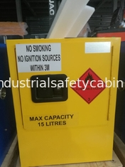 China Mini Steel Flame Proof Safety Storage Cabinets With Single Door supplier