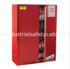 China Durable Paint Storage Cabinets With Double Decked Fire Resistant Steel Plate Structure supplier