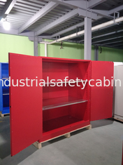 China Steel Venting Flammable Storage Cabinets For Laboratory Paint And Inks supplier