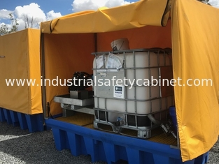 China Heavy Duty IBC Spill Containment Drum Platform For Oil Drum / Chemical Drum supplier