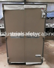 China Security Fire Resistant Storage Cabinets , Fireproof Vertical File Cabinet For Office Data supplier
