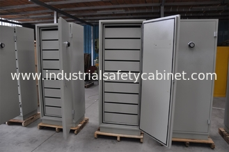 China 150L Vertical Anti Magnetic Fireproof Locking File Cabinet For Document / Data Storage supplier