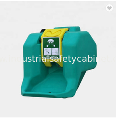 China 16 Gallons Gravity - Flow Portable Safety Showers And Eyewash Stations supplier