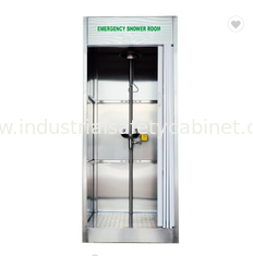 China Compound Emergency Shower And Eyewash Station , Safety Shower And Eyewash supplier