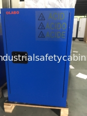 China Safety Acid Corrosive Storage Cabinets With Touch Screen For Chemical Liquid12 gallon 45litre supplier