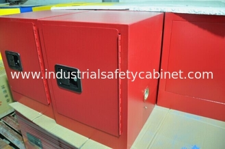 China Red Flammable Safety Cabinets 4 Gallon For Chemical Paint And Inks Storage supplier
