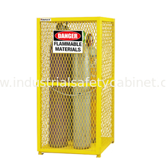 9 Cylinder Protection Gas Cabinet for Gas Cylinder Safety cabinet cage
