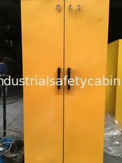 Flame Proof Hazmat Storage Cabinets Single Door For Cylinder / Paint / Chemical 90 min