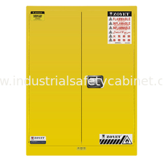 China Fireproof Flammable Safety Cabinets Three Points Linked Lock For Dangerous Goods supplier