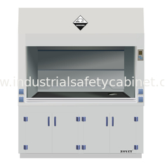China 1800 width Laboratory Furniture Safe Ductless Fume Hood Exhuasted System CE / ISO supplier
