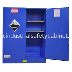 China 60 Gallon Corrosive Storage Cabinets Flameproof For Hydrochloric Acid / Acetic Acid supplier