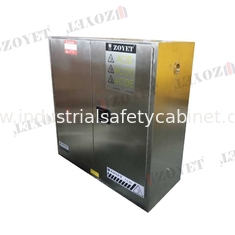 30 GAL Fireproof Hazardous Storage Cabinets For Flammable And Combustible Liquids