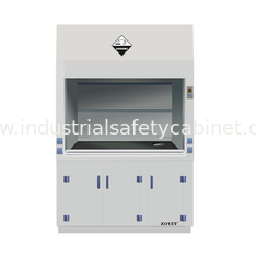 Safe Laboratory Furniture Polypropylene Storage Cabinets With Exhuasted System ISO