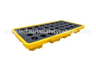 transportation 2 drum Nestable spill containment pallets