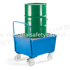 ZOYET Galvanized Steel Pallet Spill Containment Drum Platform For Multi Drums Storing