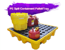 China Two Drum Spill Decks Containment Pallets Heavy Duty For Oils / Chemicals company
