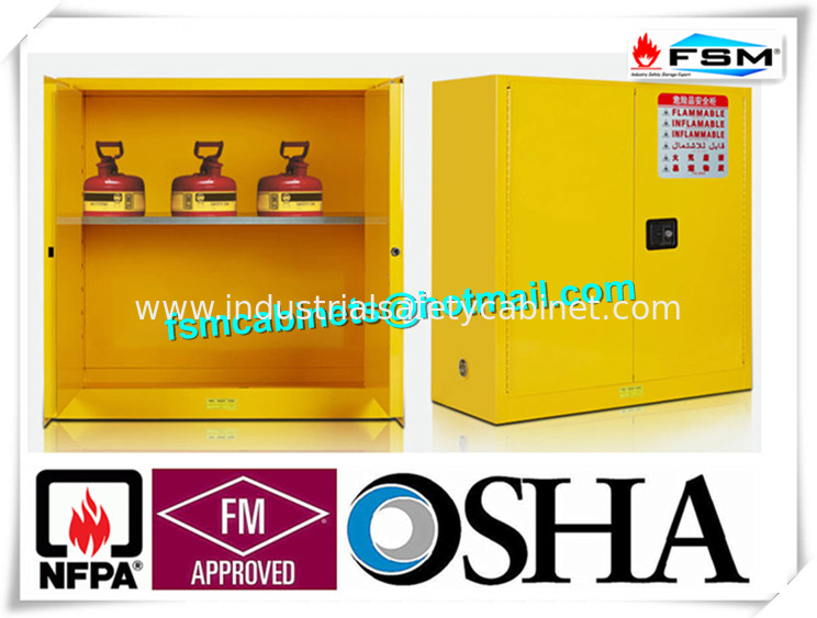 Fire Proof Outdoor Chemical Storage Cabinets , Gas Cylinder Safety Cabinets Great Ideas