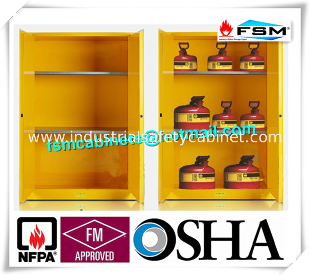 China Explosion Proof Chemical Storage Cabinets With Adjustable Shelf For  Gas Cylinders Supplier