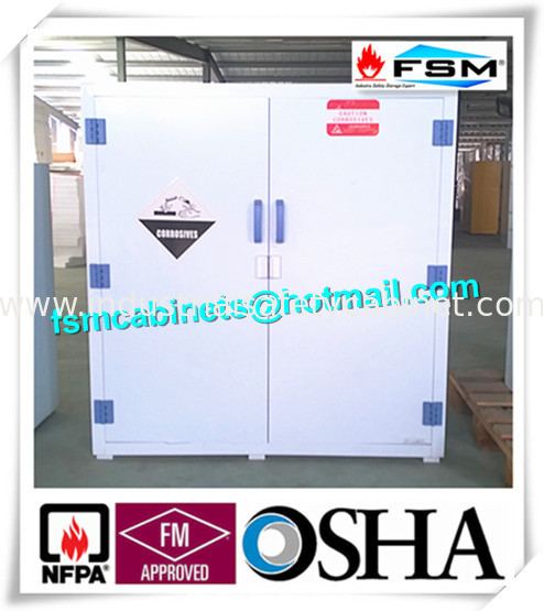 China PP Safety Hazardous Storage Cabinets For Acid Corrosive Chemical  Liquid Supplier