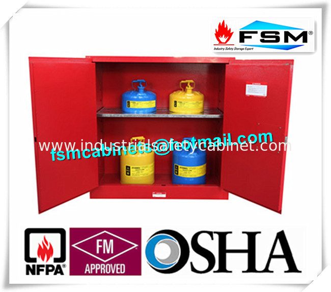 30 Gallon Chemical Storage Lockers , Safety Containers For ...