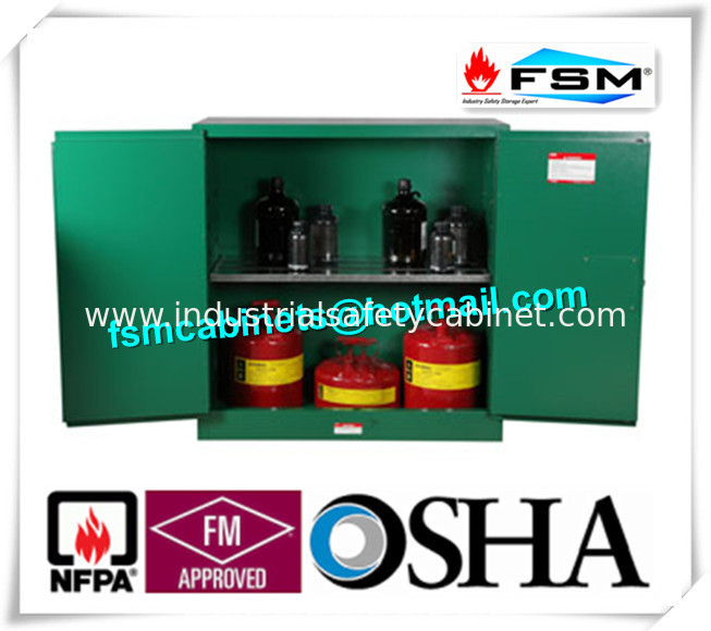 Flame Proof Hazardous Material Storage Containers 30 Gallon For