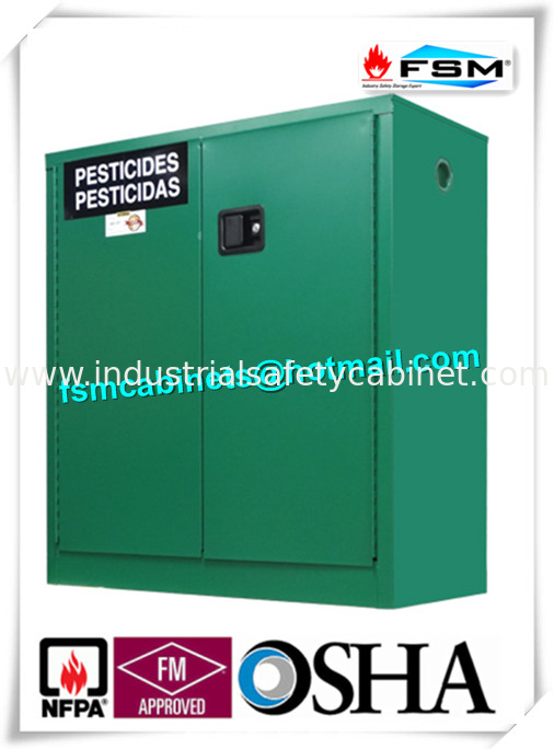 China Safety Hazardous Storage Cabinets , Hazmat Storage Locker For  Agriculture Pesticide Supplier