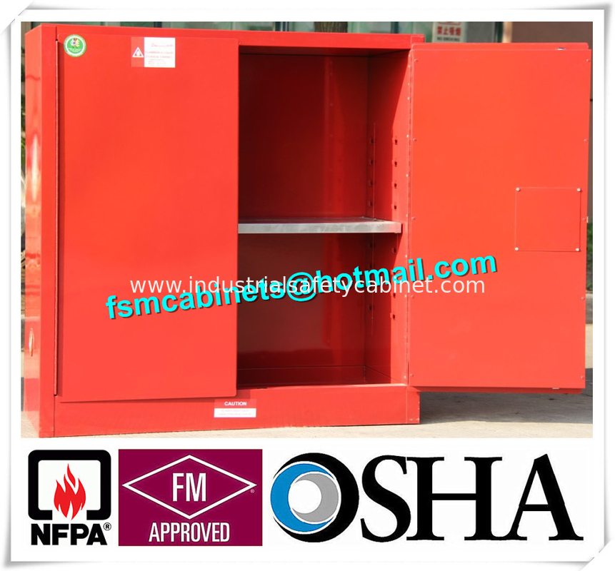 China Fireproof Corrosive Chemical Storage Cabinets For Diesel / Engine Oil  / Lubricating Oil Supplier