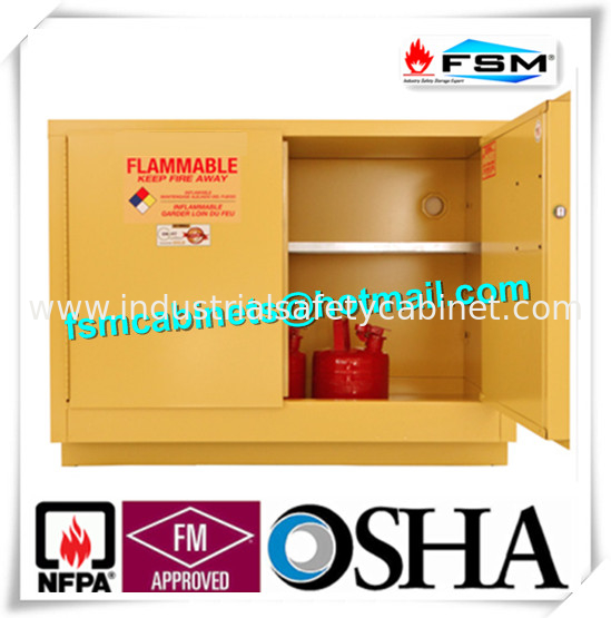 China Flame Proof Hazmat Storage Cabinets Single Door For Cylinder / Paint  / Chemical Supplier