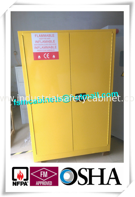 China Industry Type Safety Storage Cabinets For Flammable Liquid OSHA 29  CFR1910.106 supplier